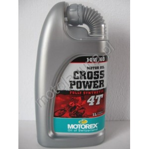 MOTOREX CROSS POWER 4T 10W60 1 LITR